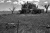 Haunted house in Estancia Valley.  New Mexico, USA. (cbrozek21) Tags: hauntedhouse house blackandwhite abandonedhouse newmexico scary