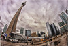 CN Tower - Toronto, ON (2.6 Million + views!!! Thank you!!!) Tags: canon eos 70d 65mm fisheyelens opteka toronto cntower city sky psp2018 efex topaz tonemapping tonemapped geotagged ontario canada