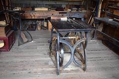 Table Saw - 19th Century (RockN) Tags: carpenter tablesaw 1860s kingslanding newbrunswick canada august2016
