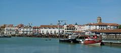 St Jean de Luz (YellowSingle 单黄) Tags: harbor st jean de luz atlantic ocean fishing boat scuba dive