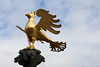 Eagle on top of the fountain, market place - Goslar (Rick & Bart) Tags: goslar germany deutschland niedersachsen city urban rickvink rickbart canon eos70d historic architecture unescoworldheritagesite street streetphotography marketplace markt fountain brunnen sculpture statue eagle adler