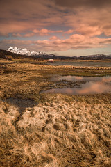 Lost in nature (Sizun Eye) Tags: lofoten norway landscape meadows wet mountains house hut reflections sky spring snow sizuneye nikond750 tamron2470mmf28