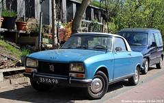 Peugeot 304 cabriolet 1974 (XBXG) Tags: 33ya98 peugeot 304 cabriolet 1974 peugeot304 cabrio convertible roadster tourer blue bleu dijksgracht amsterdam nederland holland netherlands paysbas vintage old classic french car auto automobile voiture ancienne française vehicle outdoor