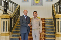 WIPO Director General Meets Thai PM (WIPO | OMPI) Tags: wipo ompi francisgurry directorgeneral thailand