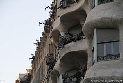 Barcelona - Smooth Curve (Caroline Forest Images) Tags: spain barcelona catalunya travel europe city cityscape architecture passeigdegracia gaudi antoniogaudi lapedrera casamilà