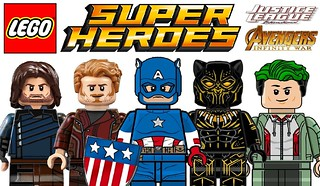 Amazing Lego  Superheroes Custom Minifigures !!!
