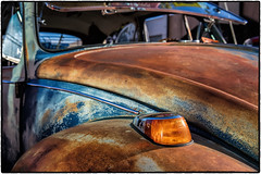 Car Art (drpeterrath) Tags: canon eos5dsr 5dsr car auto automobile culture show vw volkswagen old classic antique color outdoor rusty cruisenight glendale naturallight