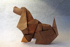 Cocker (mrmicawer) Tags: papirolexia origami papel cocker spaniel perro dog mascota pet