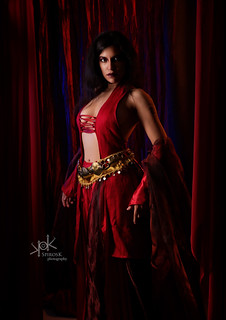 Ailiroy as Kaileena from Prince of Persia, by SpirosK photography: standing strong