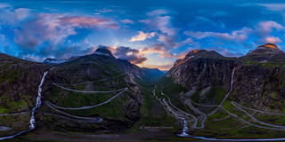 Trollstigen - 360 degree image (Norway)