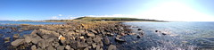 west kilbride & Adrossan beaches (13) (dddoc1965) Tags: dddoc davidcameronpaisleyphotographer westkilbride westofscotland adrossan panoramicphotos iphone july26th2018 sunny warm bluesky sand rocks panoramic sea water ocean islands mainland coastline sandybeaches scenicviews landmarks saltcoats