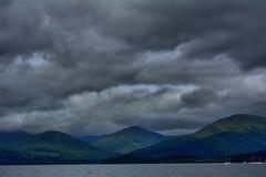 Loch Lomond. (rockyrutherford) Tags: lomond scotland bay water sky landscape waterscape