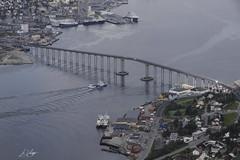 dag15, vakantie 2018, 12-7-18_0143 (leoval283) Tags: noorwegen norway 2018 vakantie holiday fjell fjellheisen view uitzicht tromsö brug brua bridge