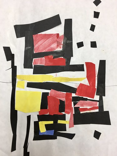 """Every year I get new favorites with this #kindergarten #pietmondrian  inspired painted paper gridded #collage ❤️❤️  They have such an amazing lyricism at this age that I admire so much. Want em all! • <a style=""""font-size:0.8em;"""" href=""""http://www.flickr.com/photos/57802765@N07/42086990170/"""" target=""""_blank"""">View on Flickr</a>"""