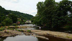The River Dee (Eddie Crutchley) Tags: europe uk wales llangollen outdoor nature river beauty simplysuperb riverdee trees water rocks