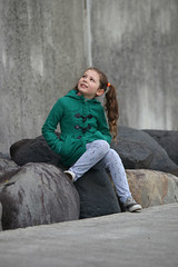 (Paul J's) Tags: taranaki newplymouth coastalwalkway girl