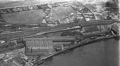 St Peter's Station & Hawthorn Leslie Engineering Works ca1929 b644 b (Ernies Railway Archive) Tags: ner lner riversidebranch stpetersstation hawthornleslieco