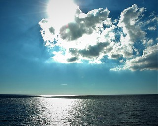 Las nubes y el mar