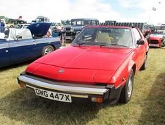 1982 Fit X/19 (occama) Tags: owg447x 1981 fiat x19 old car cornwall uk italian sports red 1982