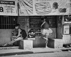 Thirst (Beegee49) Tags: man young filipina shop sarisari store street bacolod city philippines