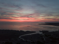 Southport Sunset (scrappy nw) Tags: southport scrappynw scrappy beach sea sky merseyside sunset dji djimavicpro mavicpro drone water pink blue clouds