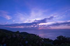 P7214566 (kunmorita) Tags: star 星 海 空 夜空 夜間撮影 sea sky night 夕焼け マジックアワー magic hour 黄昏
