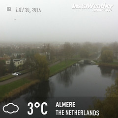 NLD_Almere_i_instaweather_334-1 (ursa_ursa) Tags: allrightsreserved almere europe fellinilaan filmwijk flevoland netherlands viewfromapartment copyrighted digitaloriginal geotagged iphone4g iphoneography