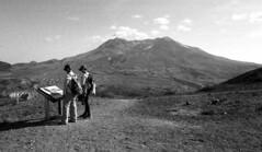 (SamBHart) Tags: nikonfm2 35mmfilm bw bwfilm blackandwhite 24mmlens nikkor autobiographical personal friends family oregon mountsthelens sthelens hike hiking