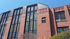 (sftrajan) Tags: rooseveltjuniorhighschool rooseveltmiddleschool gearyboulevard brick architecture sanfrancisco timothypflueger arguelloboulevard 20thcenturyarchitecture