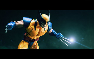 Marvel Legends Wolverine Races Into Battle!