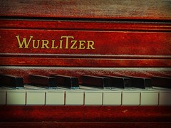 Keys (clarkcg photography) Tags: piano wurlitzer ivory ebony music notes keys w t url wood woodgrain saturated saturatedsaturday