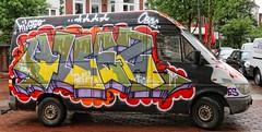 - (txmx 2) Tags: hamburg graffiti truck van car ottensen