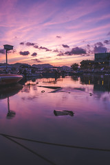A Great Journey Begins with a Good Morning (little_stephy0925) Tags: fujifilm fuji fujifilmxh1 fujixh1 fujinonxf1655mm xf1655mm mirrorlesscamera classicchrome sunrise purple goodmorning saikung kowloon hongkong explorehongkong beautifulhongkong homesweethome seaside dock
