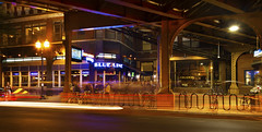 Blue Line Special (rjseg1) Tags: wickerpark chicago elevated l station damen blueline