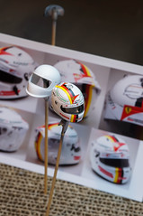 1/10 scale  2016 Sebastian Vettel Helmet (Otaka0706) Tags: rc car formel 1 f1 world champion scuderia ferrari driver tamiya trf102 f104 110 ラジコン タミヤ フォーミュラ リアル