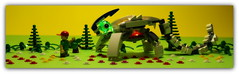 (peter-ray) Tags: mecha robot beast android monster gamera godzilla minifigure peter ray samsung nx2000 shifi fantasy diorama brick moc lego