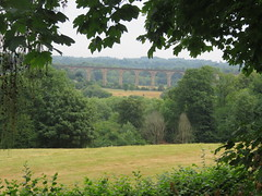 UK - Wales - Denbighshire - Near Froncysyllte - Old railway bridge (julesfoto3) Tags: uk wales centrallondonoutdoorgroup clog denbighshire froncysyllte deevalley shropshireunioncanal llangollencanal railwaybridge