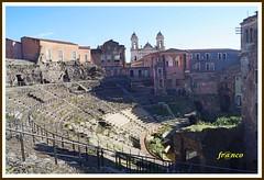 Teatro (fr@nco ... 'ntraficatu friscu! (=indaffarato)) Tags: italia italy sicilia sicily catania centrostorico cs teatro