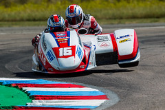 #16 Ben and Tom Birchall (PINNACLE PHOTO) Tags: sidecar racing birchall 16 thruxton fast bsb yamaha