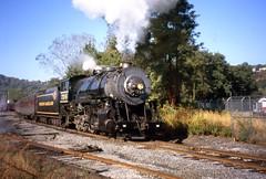 WM 734 (Fan-T) Tags: wm western maryland scenic nyc tender lsi 280 cumberland st eam engine 734 fast bfreight line