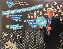 Backing Scottish Pets Deserve Better campaign