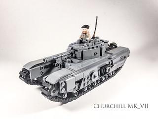 Finished Churchill Tank