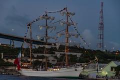 _DSC0589 (suriphoto) Tags: ship harbor curacao caribbean velalatinoamerica mexican bridge sails lights 2018 willemstad