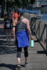 The Waterfront Walk (Scott 97006) Tags: woman female lady walk exercise sightseeing