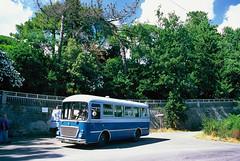 Prima fermata fotografica (maximilian91) Tags: fiat314cansa fiat314 fiatcansa fiat oldbuses vintagebuses italianbuses italia italy liguria laspezia provia provia100 35mm film analogue nikonfe