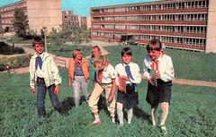 DDR Pioniere,Jungpioniere,Junge-Pioniere,Freie-Deutsche-Jugend,DDR Kinder,Thälmannpioniere (SchlangenTiger) Tags: thälmannpioniere jungpioniere jungepioniere pioniere freiedeutschejugend fdj gst kinder jugend schule schüler gdr ddr pioniertreffen 1988 karlmarxstadt pionierkleidung pionierhemdbluse pionierhalstuch posschule pioniergruppe schülergruppe kindergruppe pioniergruppenrad