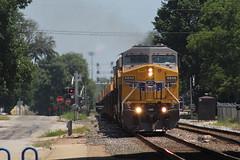 UP 6850 (CC 8039) Tags: up csx trains ac44cw c449w es44ac sd70m effingham illinois