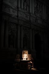 The Night Painter (alvise.mori) Tags: venezia venice night streetphotography nightstreet painting art nikon d7500