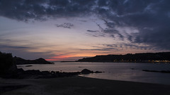 Erquy (siebensprung) Tags: erquy bretagne britanny france frankreich sunset sonnenuntergang meer ocean sea hafen bucht bay water wasser sky himmel wolken clouds landscape landschaft