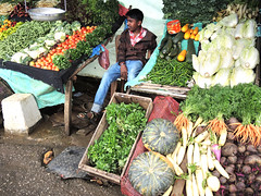 Road market (MelindaChan ^..^) Tags: srilanka 斯里蘭卡 chanmelmel mel melinda melindachan culture life market stree road hawker veggie vegetable